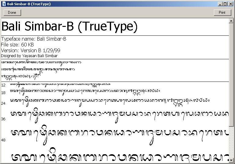 Balinesefamily font free fonts download.